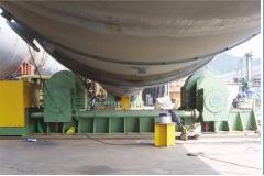1600吨可调式焊接滚轮架