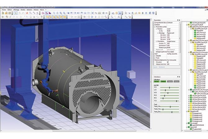 锅炉机器人柔性化焊接系统
