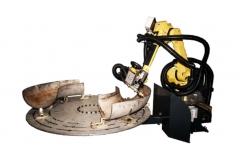不锈钢弯头机器人切割系统
