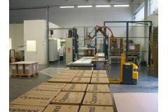 纸板桶用粘性液体化学产品灌装线(45kg容量)