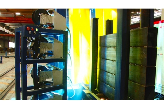 钢管束组焊割生产线