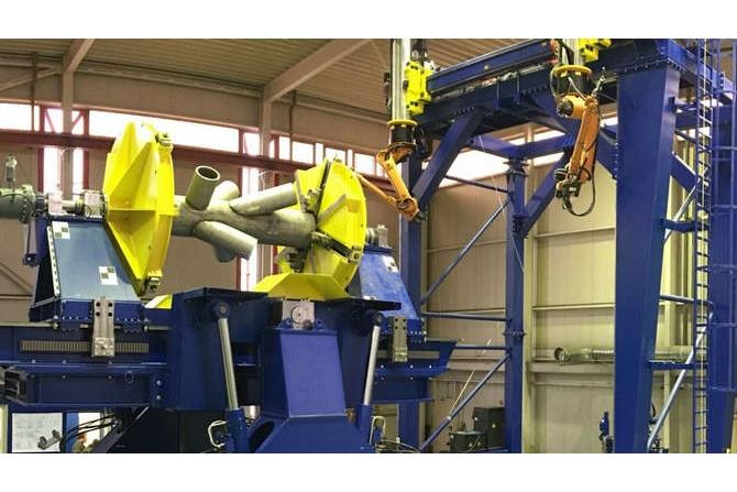 大型管切割装配焊接机器人系统