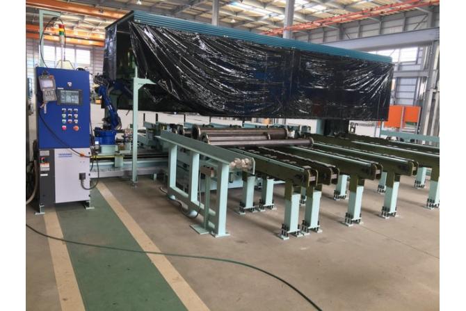 数字化管道直管机器人焊接产线