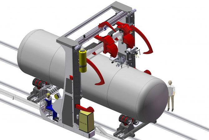 门式(升降)焊接机