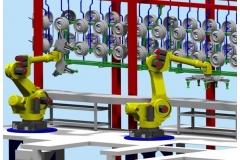 轮毂机器人夹持器