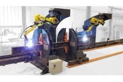 工字钢机器人焊接站(轻型)