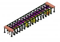 绞肉机部件加工生产线(打磨、喷灰、喷粉)