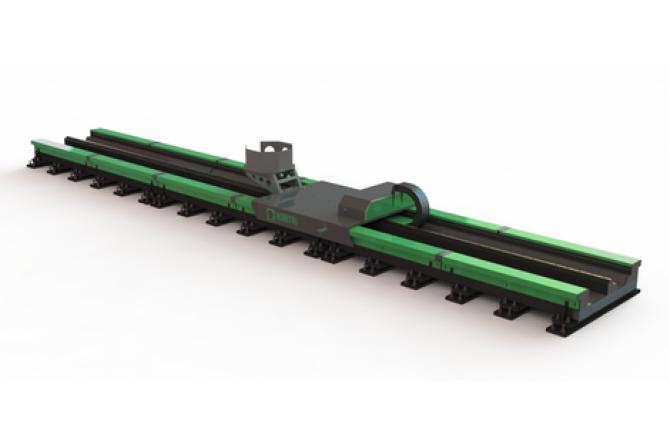 LMX系列中等运输承载力滑块(机器人行走轴)
