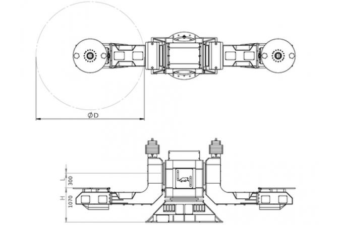 SHD系列串联L型定位器