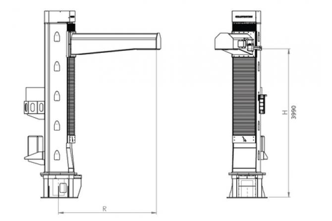 PR系列支柱机器人