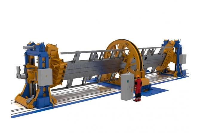 电力机车底架多用途定位器