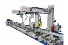 变截面梁机器人焊接系统