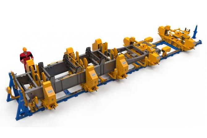 自卸车半挂车车架总成的多功能支架