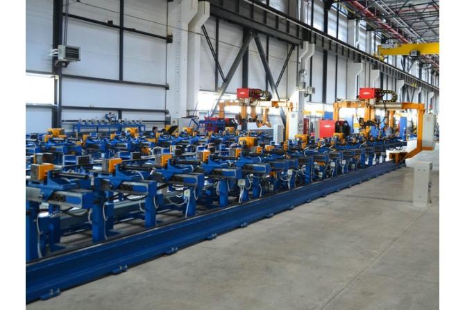 大梁装配和焊接用多用途线