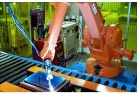 电箱柜高速焊接打磨柔性化焊接生产线