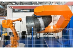 虾米弯头机器人焊接系统