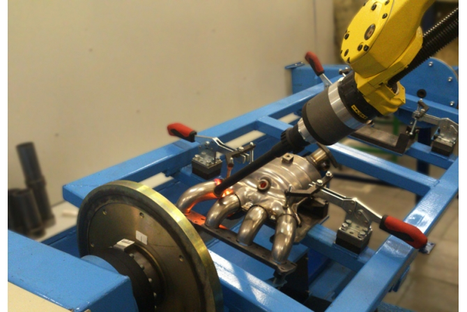 汽车加热器机器人焊接系统