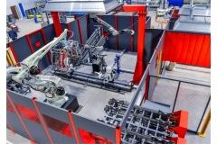 罐体机器人装配焊接产线