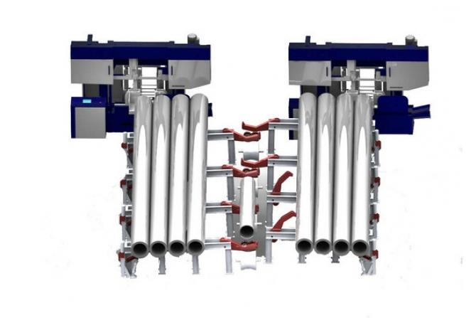 管材物流系统
